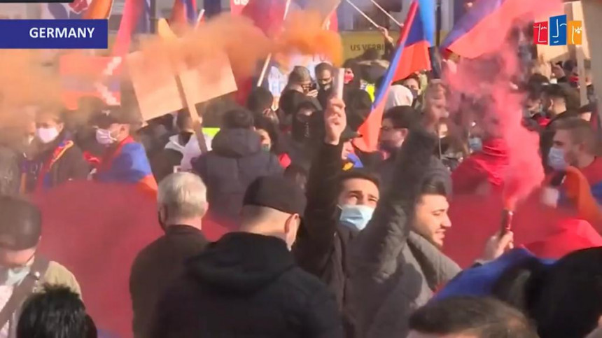 """""""Everyone's heart is beating for Artsakh and Armenia."""""""