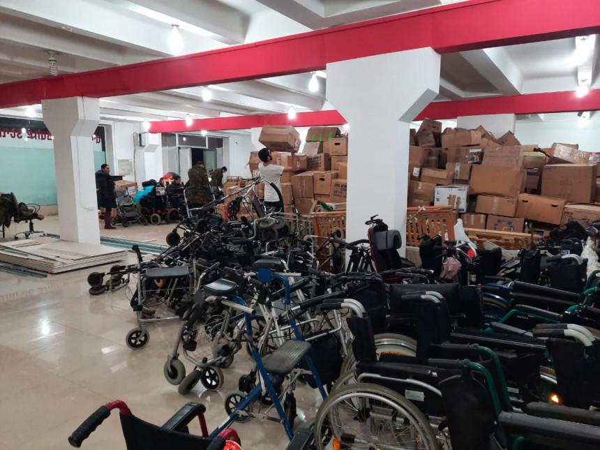 Գերմանահայերի մարդասիրական օգնության բեռների բաշխումը ստանձնեց Վահագն Ասատրյանի անվան «Հերոսների վերականգնողական քաղաք» հասարակական կազմակերպությունը