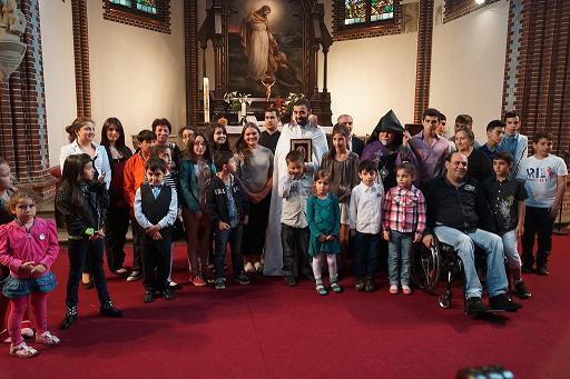 06.11.2016թ.-ին ,ժամը՝ 15.00-ին, Սբ. Պատարագ Լիխտենբերգի «Փրկչի» եկեղեցում
